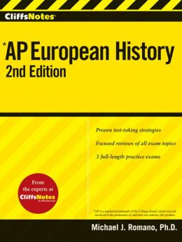 CliffsNotes AP European History, 2nd Edition