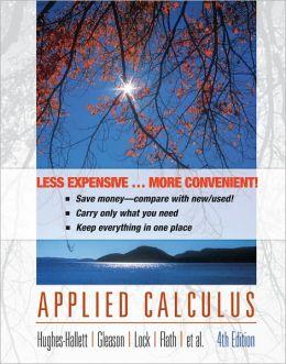 Applied Calculus (Looseleaf)