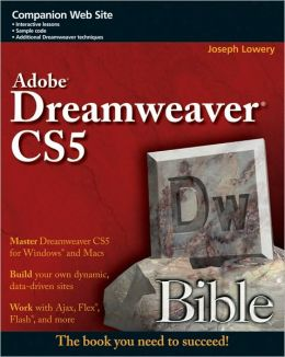 Dreamweaver CS5 Bible