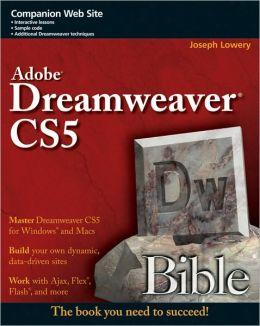 Dreamweaver CS5 Bible