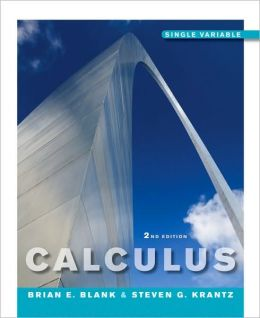 Calculus: Single Variable