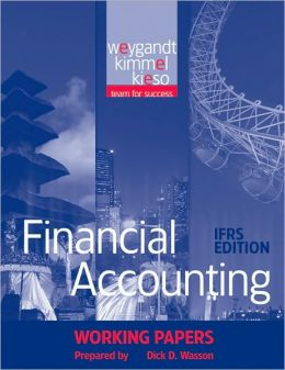 Financial Accounting, Working Papers: IFRS Edition