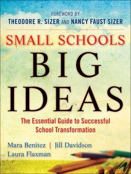 Small Schools, Big Ideas: The Essential Guide to Successful School Transformation