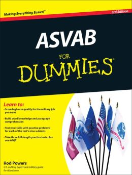 ASVAB For Dummies 3rd Edition