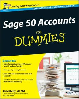 Sage 50 Accounts For Dummies, UK Edition