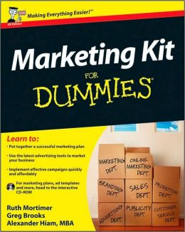 Marketing Kit For Dummies UK Edition