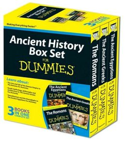 Ancient History Box Set For Dummies