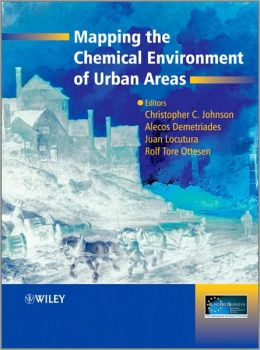 Mapping the Chemical Environment of Urban Areas