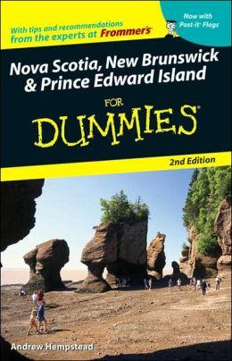 Nova Scotia, New Brunswick and Prince Edward Island For Dummies