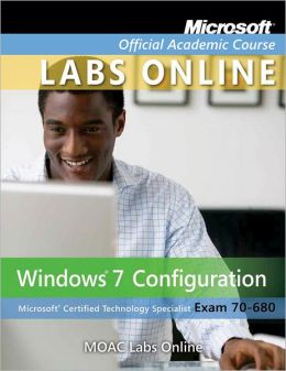 Moac lab online stand alone to accompany 70 680 windows 7