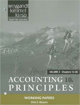 Working Papers Vol. 2 t/a Accounting Principles