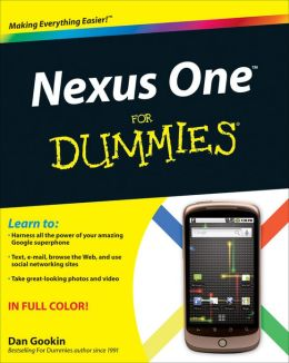 Nexus One For Dummies
