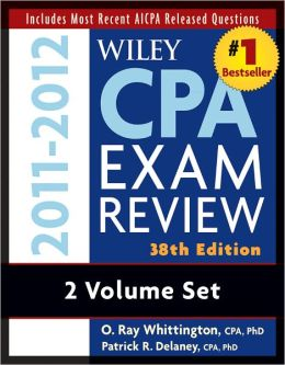 Wiley CPA Examination Review, 2 Volume Set