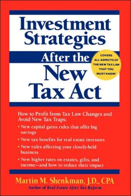 Investment Strategies After the New Tax Act