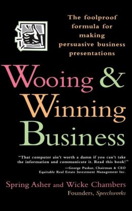 Wooing & Winning Business: The Foolproof Formula for Making Persuasive Business Presentations