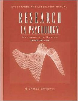 Research in Psychology, Study Guide: Methods and Design