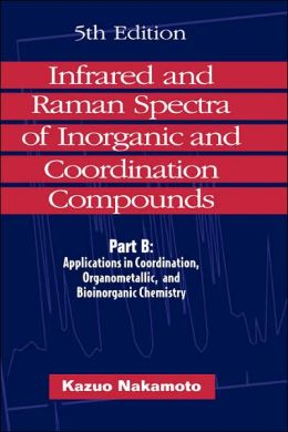 Infared and Raman Spectra of Inorganic and Coordination Compounds: Part B: Applications in Coordination, Organometallic and Bioinorganic Chemistry