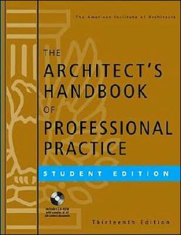 Architect's Handbook of Professional Practice: Student Edition