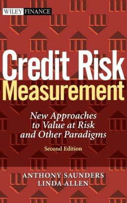 Credit Risk Measurement 2e