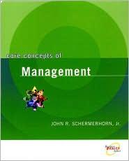 Core Concepts of Management, 1st Edition