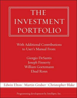 Investment Portfolio User's Manual / With Two 3