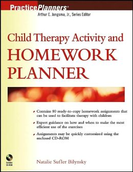 Child Therapy Activity and Homework Planner