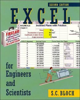 Excel for Engineers and Scientists [With CDROM]