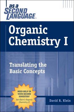 organic chemistry as a second language pdf