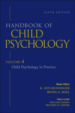 Handbook of Child Psychology, Child Psychology in Practice, Volume 4