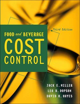 Food and Beverage Cost Control with Diskette