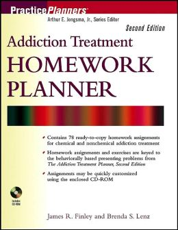 Addiction Treatment Homework Planner (Practice Planners Series)