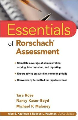 Essentials of Rorschach Assessment