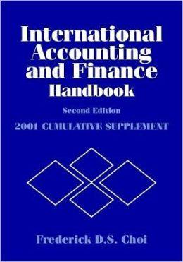 International Accounting and Finance Handbook, 2001 Cumulative Supplement