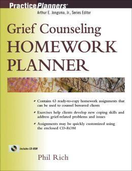Grief Counseling Homework Planner with disk