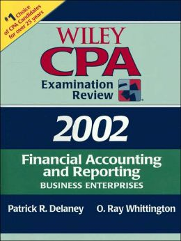 Wiley CPA Examination Review 2002: Financial Accounting and Reporting: Business Enterprises