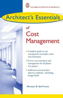 Architect's Essentials of Cost Management