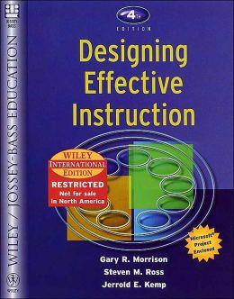 WIE Designing Effective Instruction