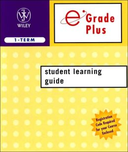 eGrade Plus 1 Semester Student Learning Guide to accompany Cutnell 6th Edition and Halliday 7th Edition