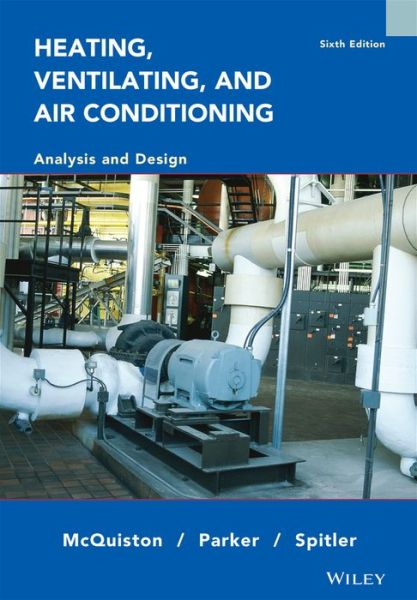 Heating Ventilating and Air Conditioning: Analysis and Design