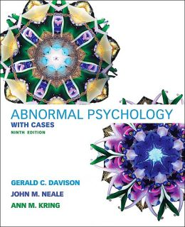 Abnormal Psychology: With Cases