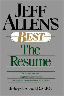 Jeff Allen's Best: The Resumes