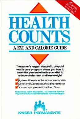 Health Counts: :A Fat and Calorie Guide