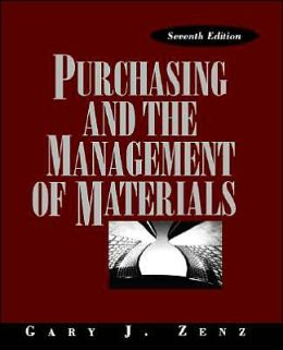 Purchasing and the Management of Materials