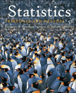 Statistics - Principles and Methods