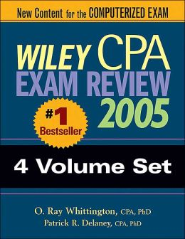 Wiley CPA Examination Review 2005 4 Volumes