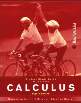 Calculus Multivariable, 8th Edition: Student Study Guide