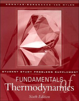 Fundamentals of Thermodynamics: Student Study Problems Supplement