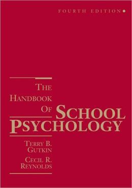 The Handbook of School Psychology