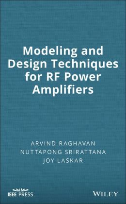 Modeling and Design Techniques for Radio-Frequency Power Amplifiers