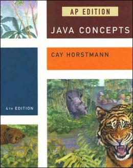 Java Concepts Advanced Placement